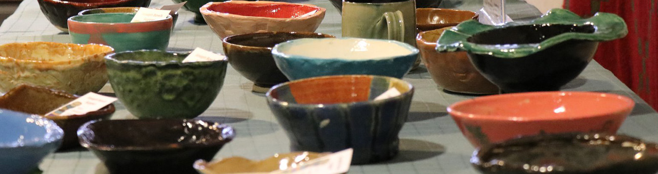 Bowls on the table