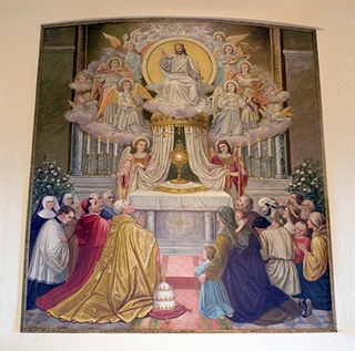 Sacristy Painting