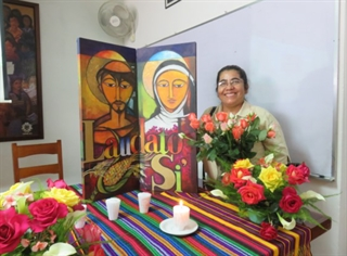 Sr. Enelly Ortiz, Director of the Franciscan Center in Guatemala City